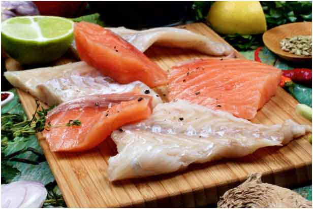 Salmon and ginger